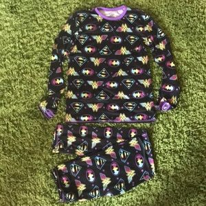 New Girls DC Comics Cuddle Duds size large